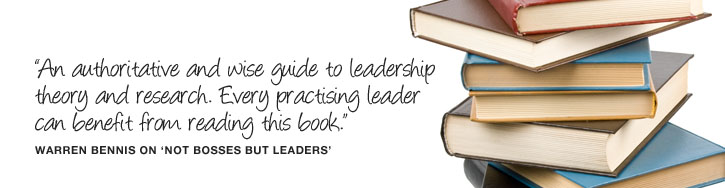 """An authoritative and wise guide to leadership theory and research. Every practising leader can benefit from reading this book"" Warren Bennis on ""Not Bosses But Leaders"""